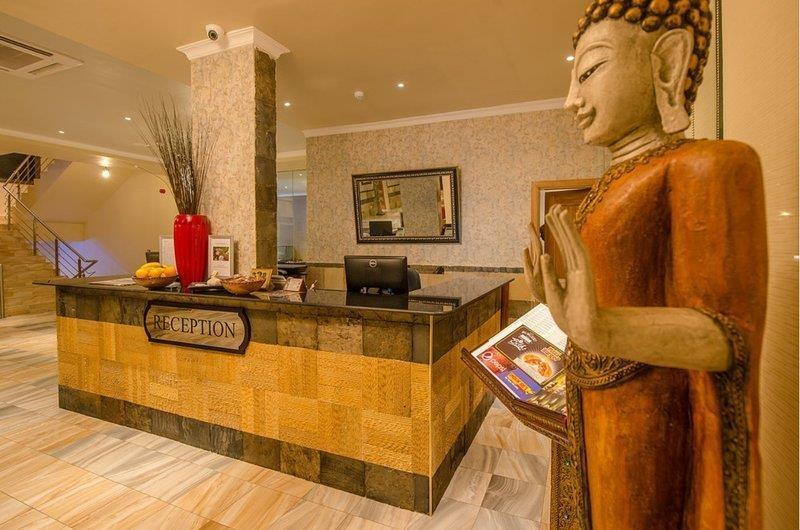 Best Western CBD Hotel - recepción