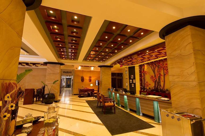 Best Western Plus Lusaka Grand Hotel - Vista del vestíbulo