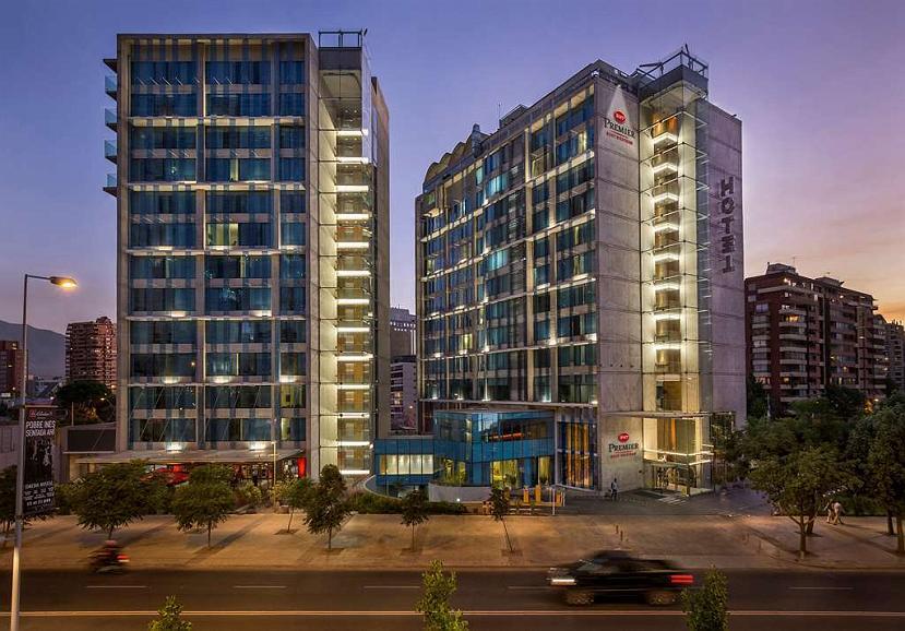 Best Western Premier Marina Las Condes - Fachada del hotel