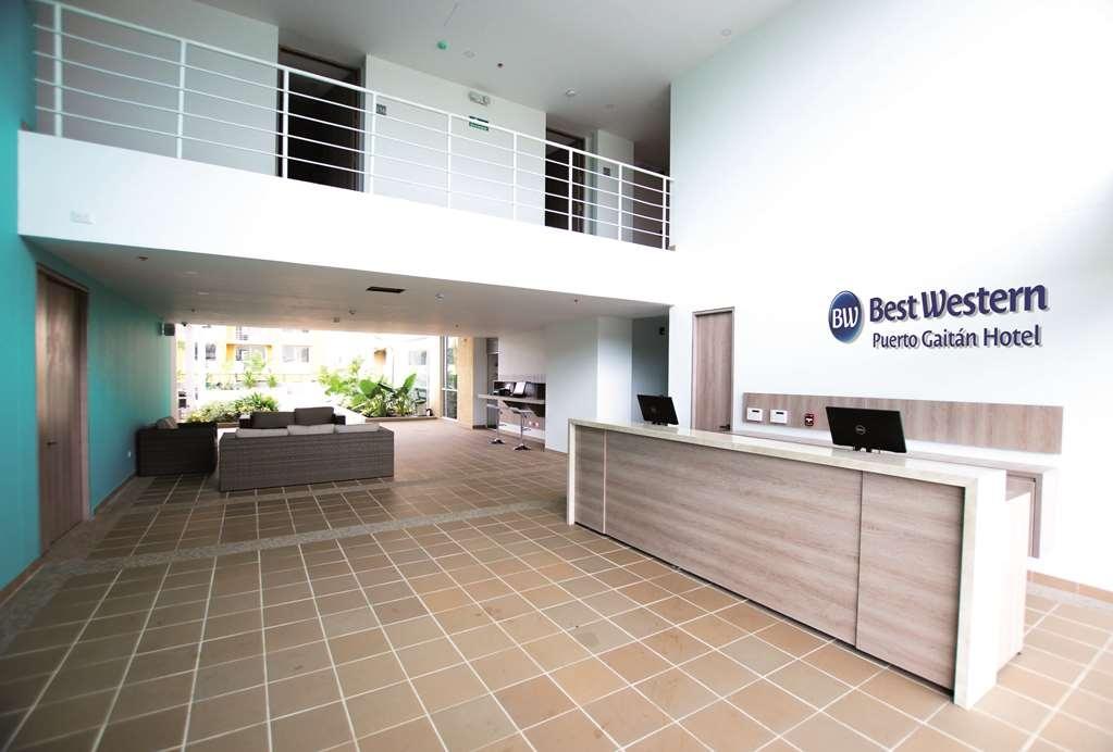 Best Western Puerto Gaitan Hotel - Lobby Area and Reception Desk