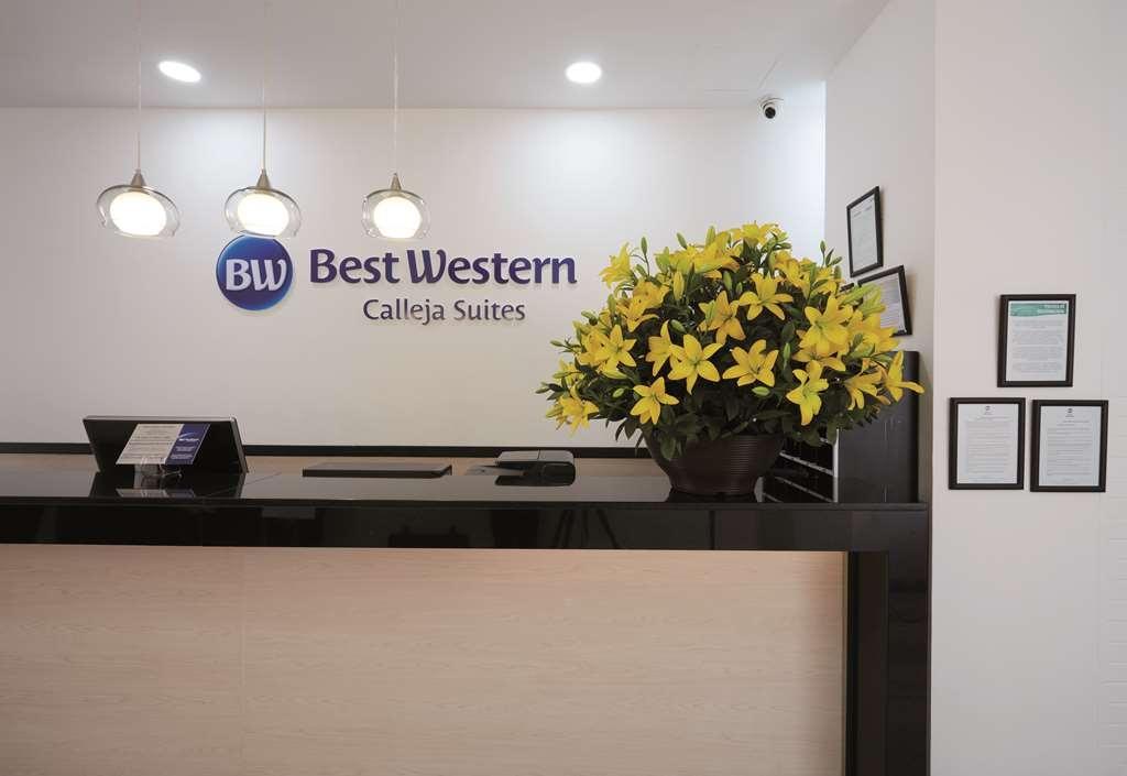 Best Western Calleja Suites - Vista del vestíbulo
