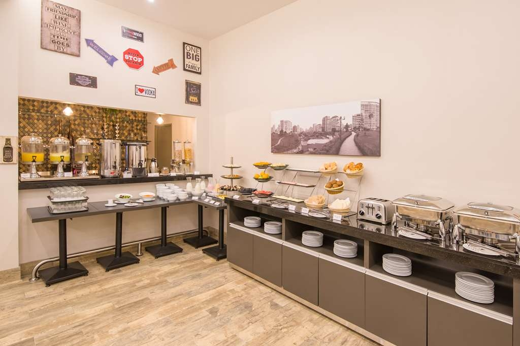 Best Western Plus Urban Larco Hotel - Breakfast