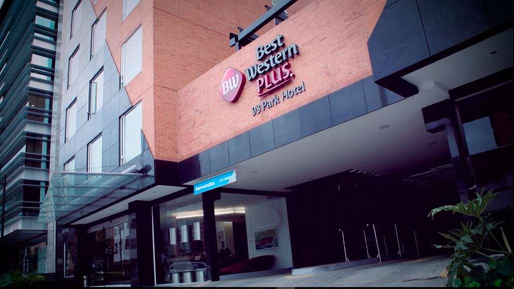 Best Western Plus 93 Park Hotel - Aussenansicht