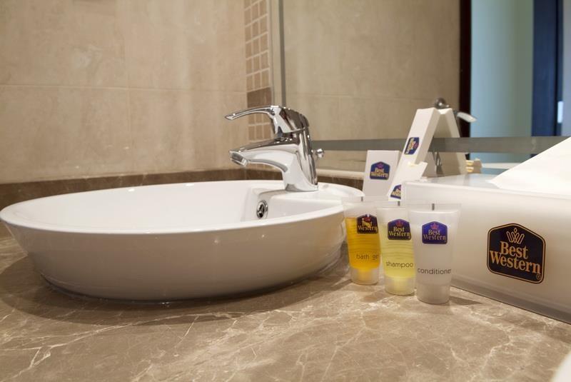 Best Western Plus Mahboula - Salle de bain