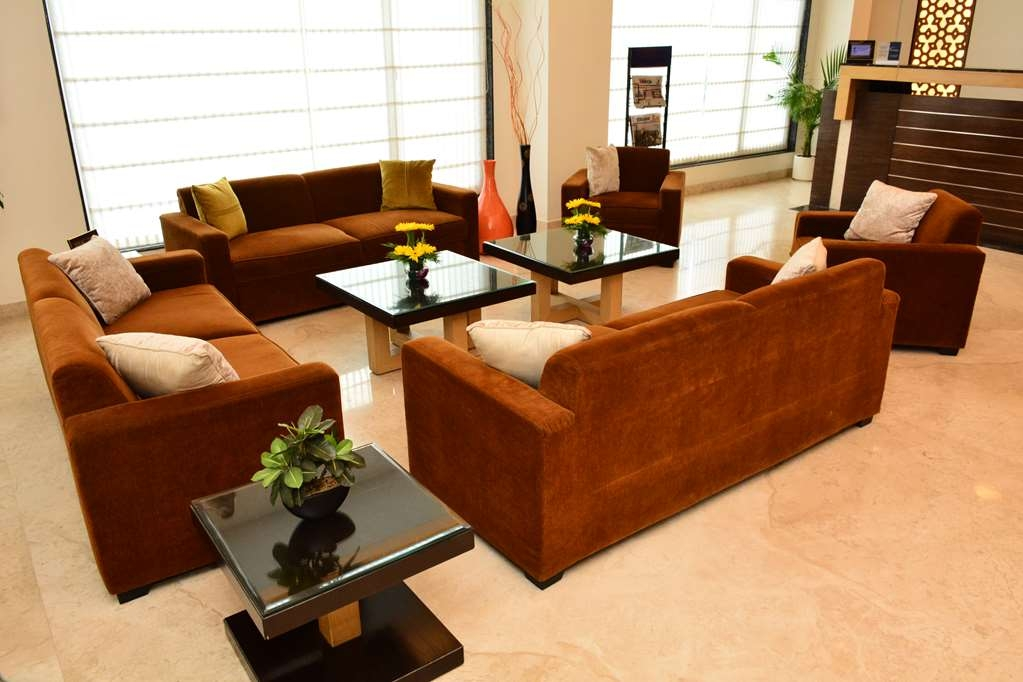 Best Western Sagar Sona - Lobby Seating Area
