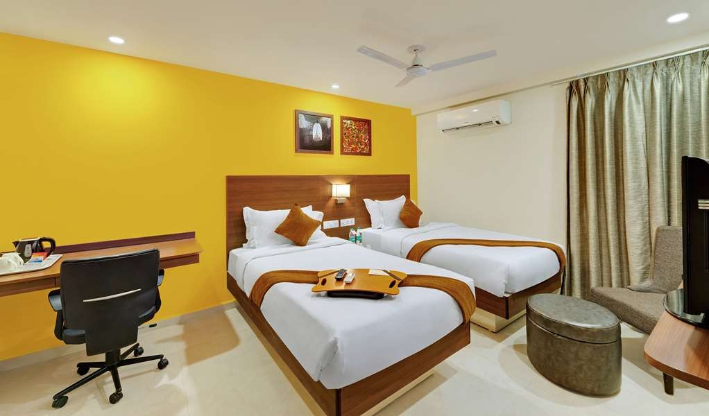 Best Western Alkapuri, Vadodara - Two Single Beds