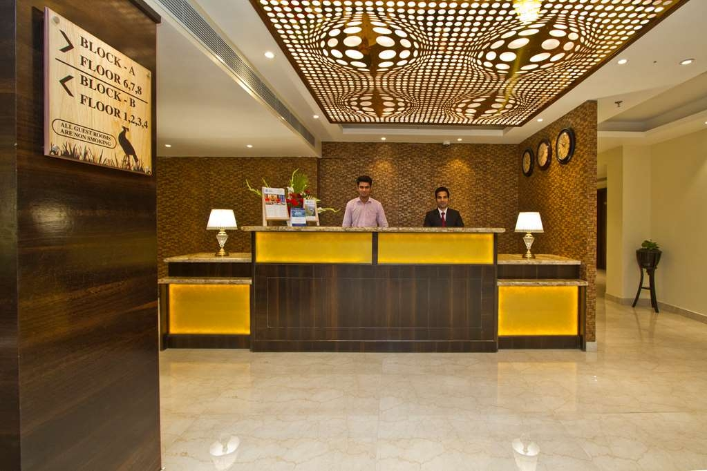Best Western Himalyan Monal - Lobby and Reception Desk