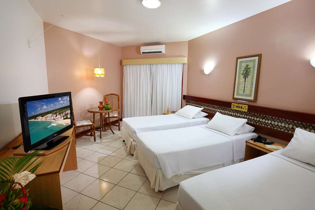 Best Western Shalimar Praia Hotel - Deluxe Room with 3 SGL Beds