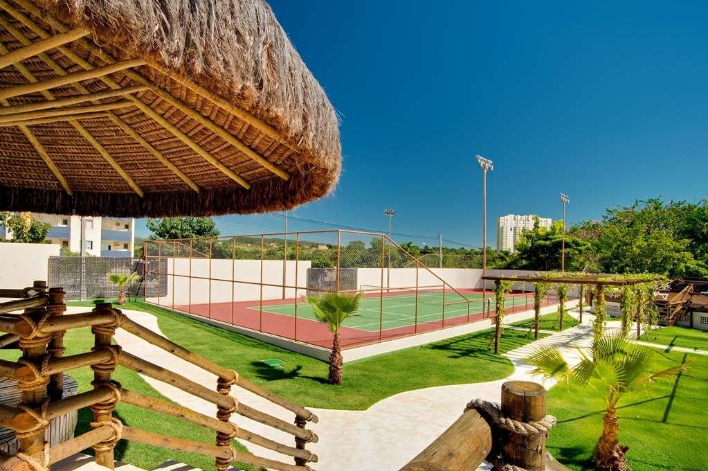 Best Western Suites Le Jardin Caldas Novas - Recreation Area Tennis Court