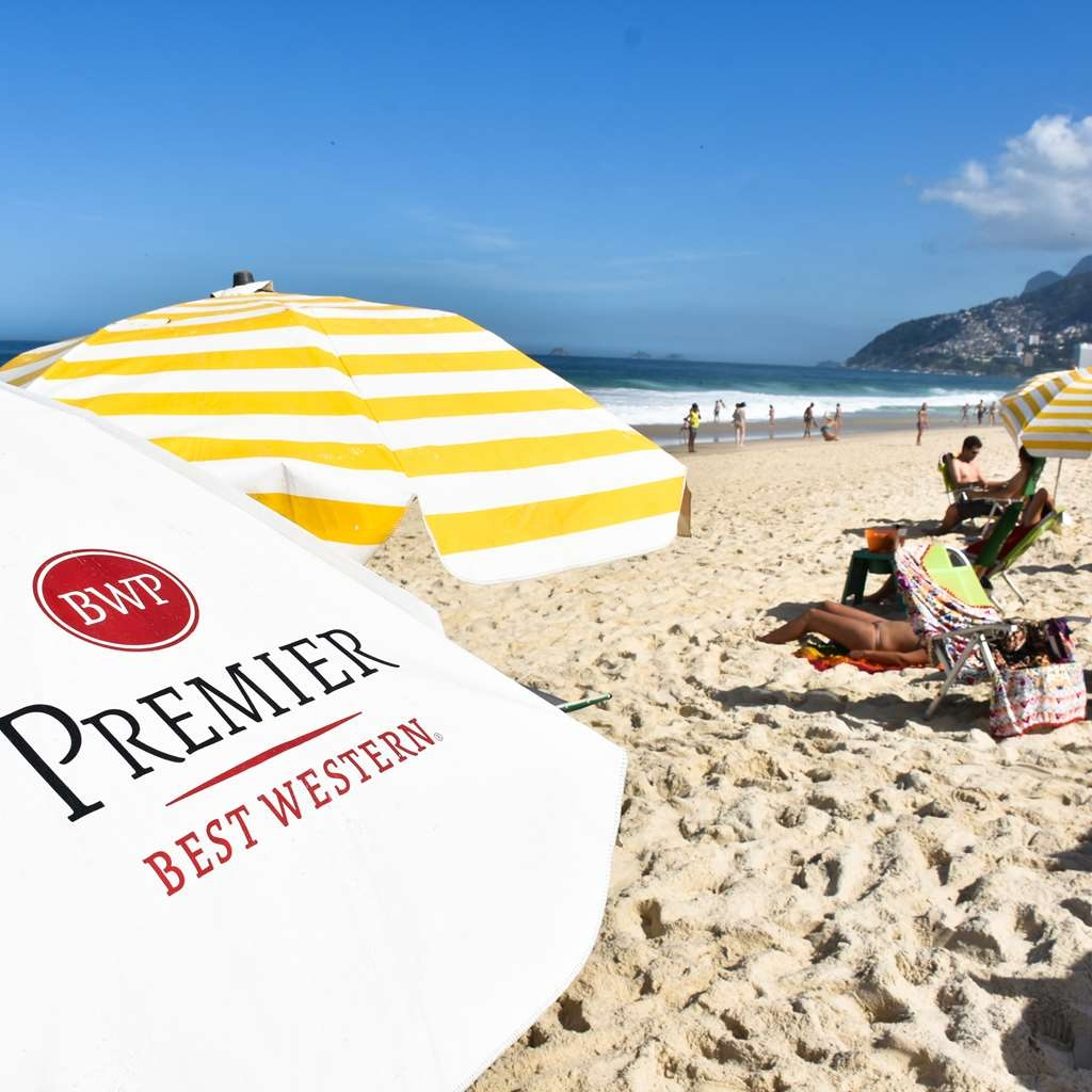 Best Western Premier Arpoador Fashion Hotel - Beach service is available for our guests!