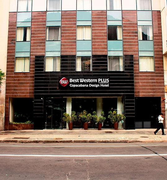 Best Western Plus Copacabana Design Hotel - Area esterna