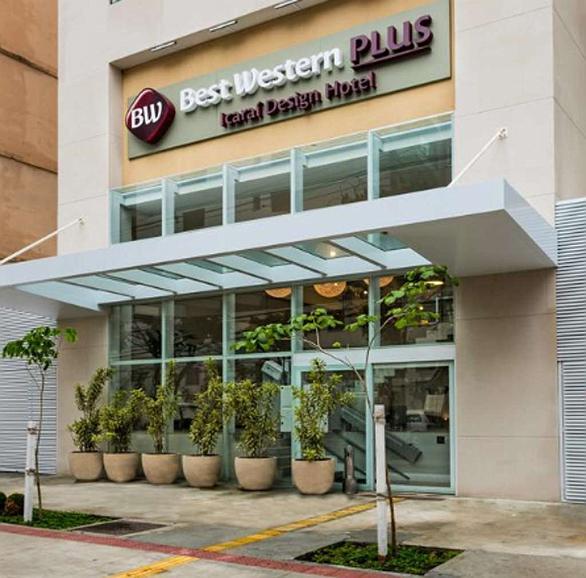 Best Western Plus Icarai Design Hotel - Aussenansicht