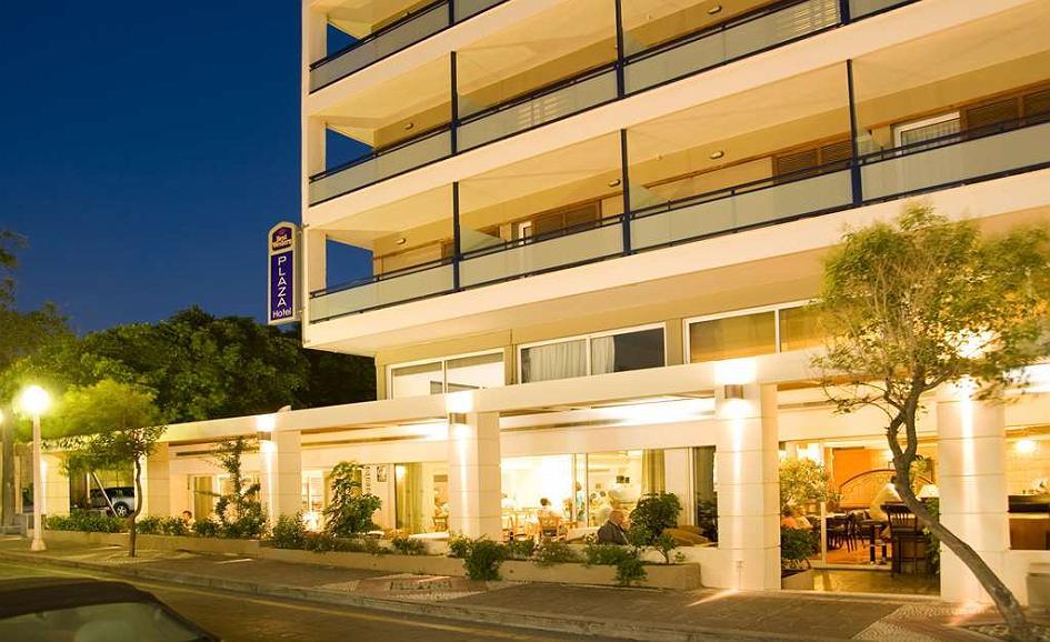 Best Western Plus Hotel Plaza - Area esterna