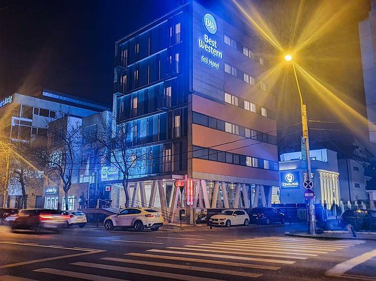 Best Western Stil Hotel - Aussenansicht