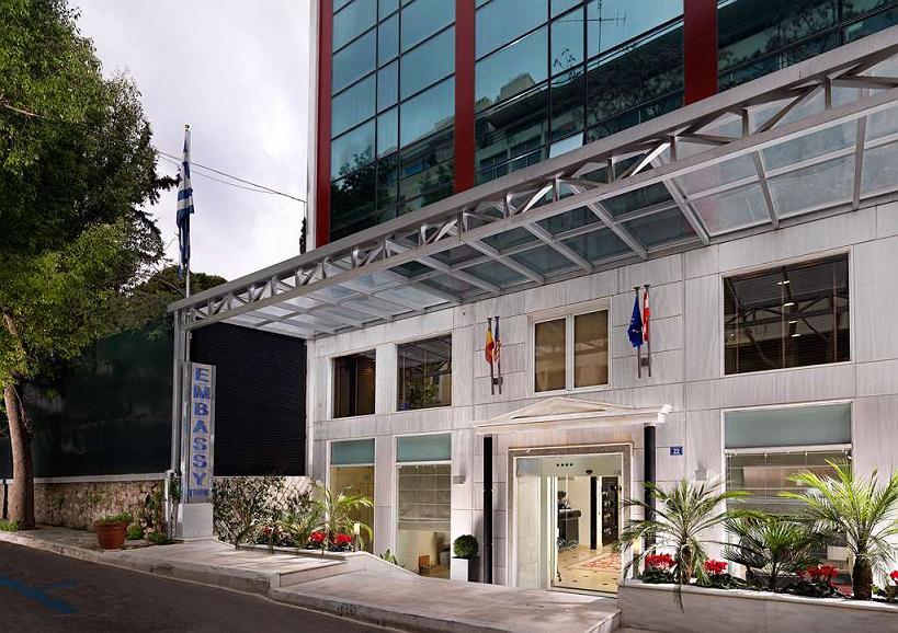 Best Western Plus Embassy Hotel - Area esterna