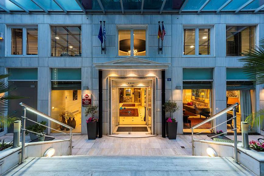 Best Western Plus Embassy Hotel - Vue extérieure
