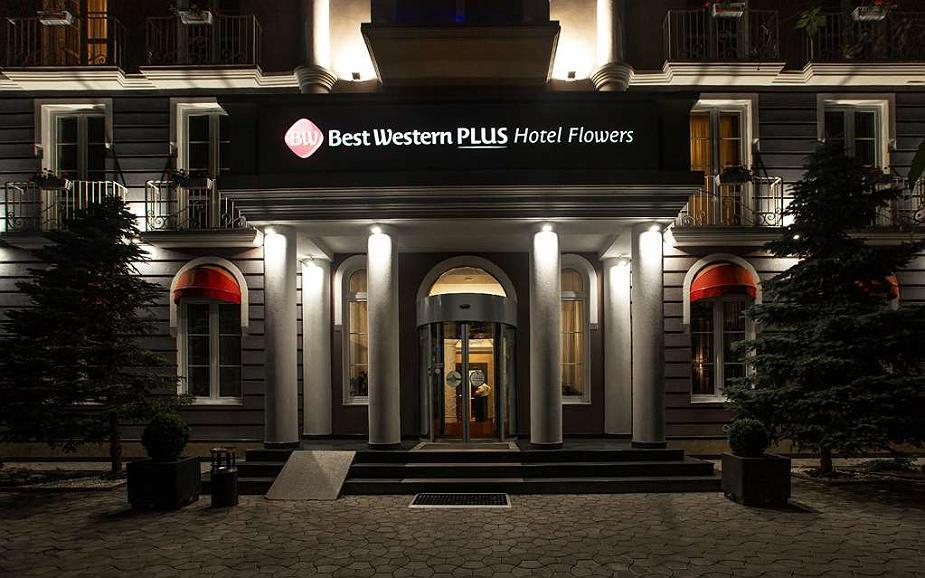 Best Western Plus Flowers Hotel - Aussenansicht