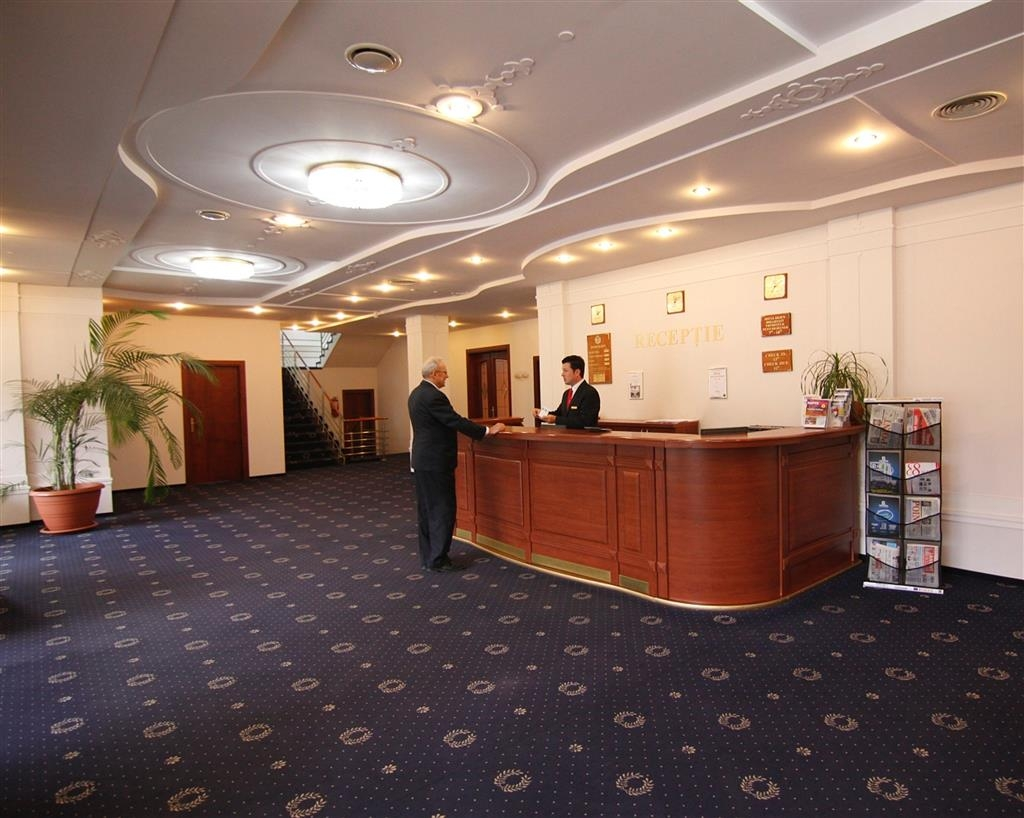 Best Western Silva Hotel - Reception Desk