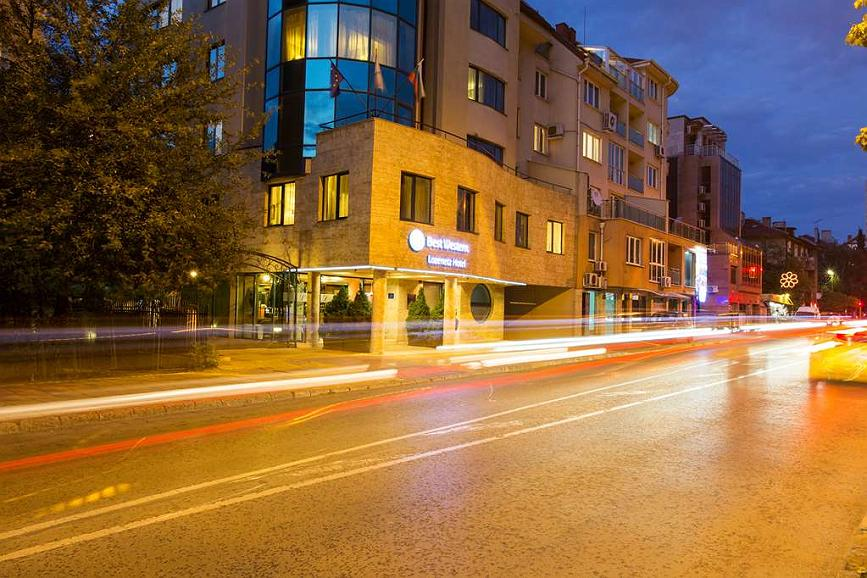 Best Western Lozenetz Hotel - Area esterna