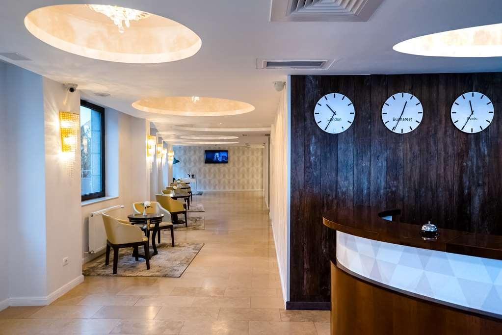 Best Western Hotel Lev Or I - Best Western Premier Hotel Lev Or I Reception Desk