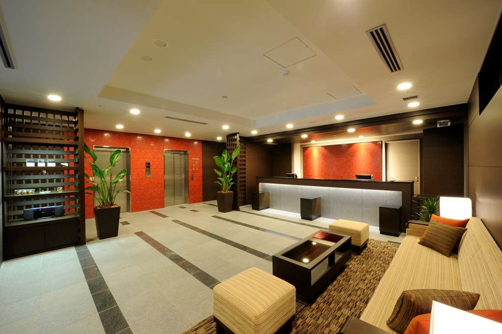 Best Western Hotel Fino Osaka Shinsaibashi - Vue du lobby