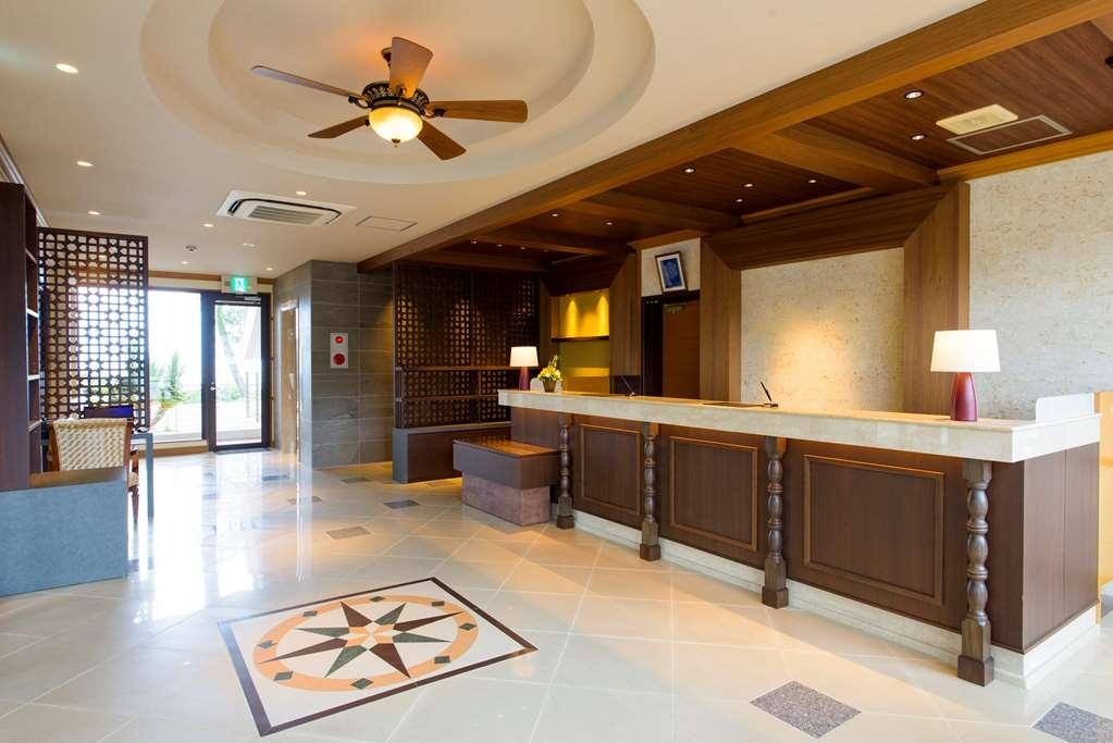 Best Western Okinawa Onna Beach - Vue du lobby