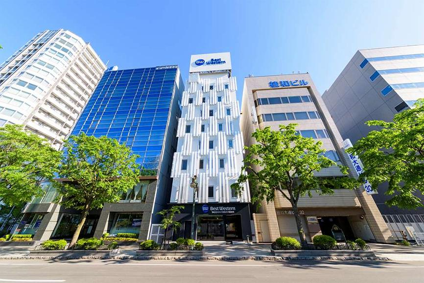 Best Western Sapporo Odori Koen - Façade