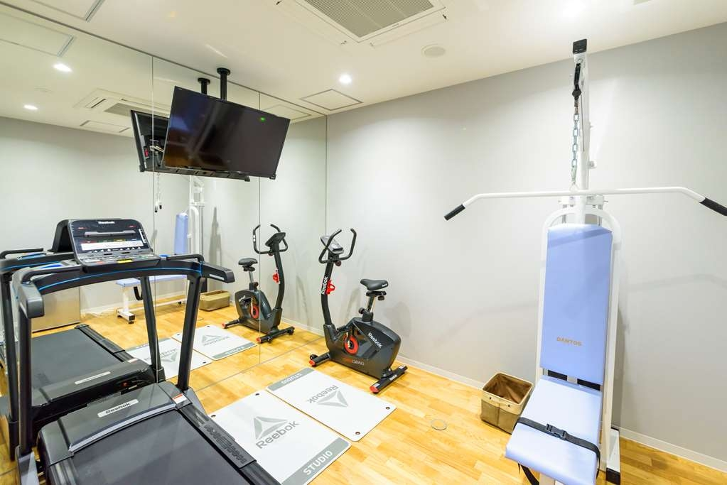 Best Western Plus Hotel Fino Chitose - Fitnessstudio