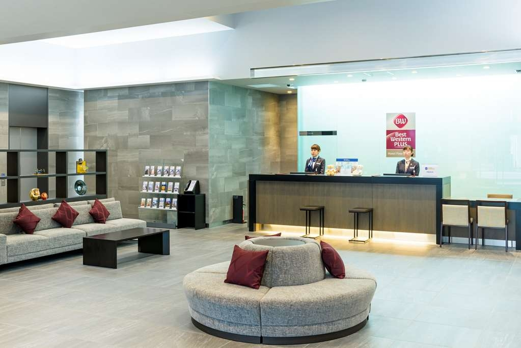 Best Western Plus Hotel Fino Chitose - reception