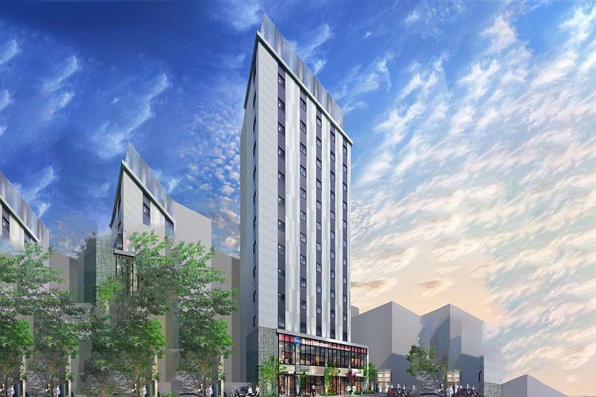 Best Western Hotel Fino Tokyo Akasaka - Aussenansicht