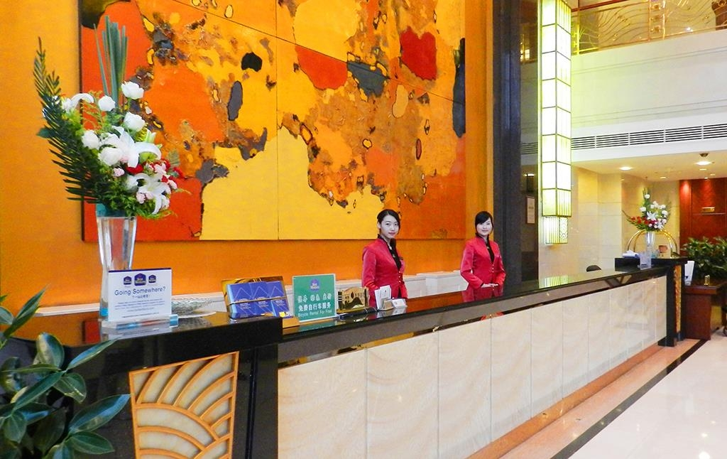 Best Western Plus Fuzhou Fortune Hotel - Front Desk