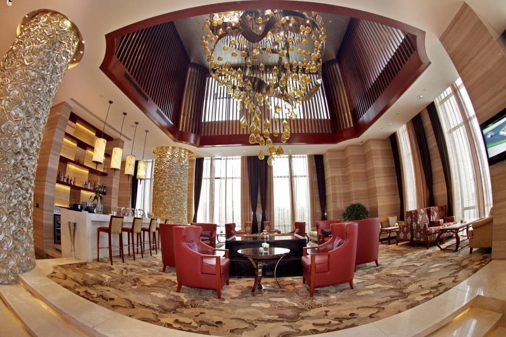 Best Western Premier Hotel Hefei - Bar del vestíbulo