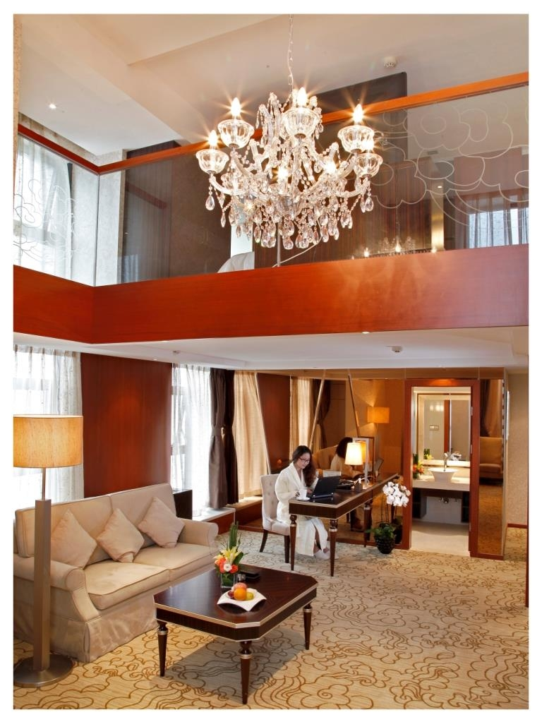Best Western Premier Hotel Hefei - Bathroom of Business Junior Loft Room
