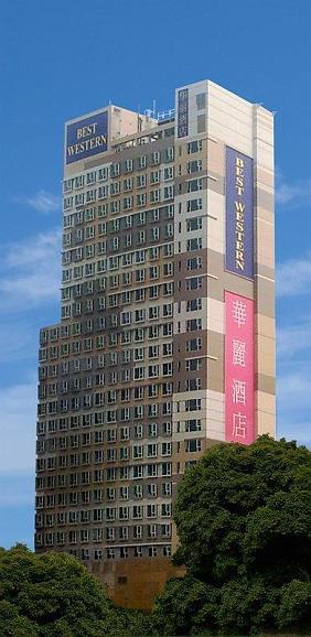 Best Western Grand Hotel Hong Kong - Außenansicht