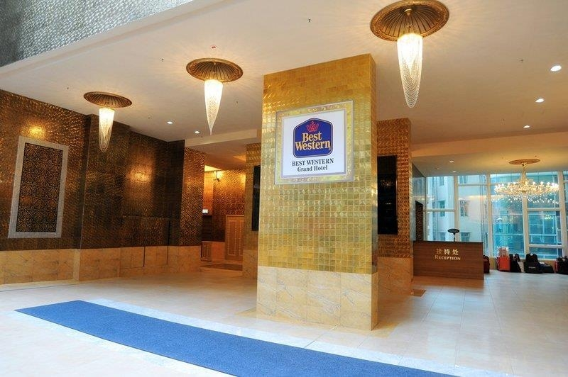 Best Western Grand Hotel Hong Kong - Hall dell'hotel