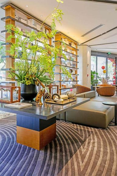 Best Western Plus Haiyue Hotel Fuzhou - Vista del vestíbulo