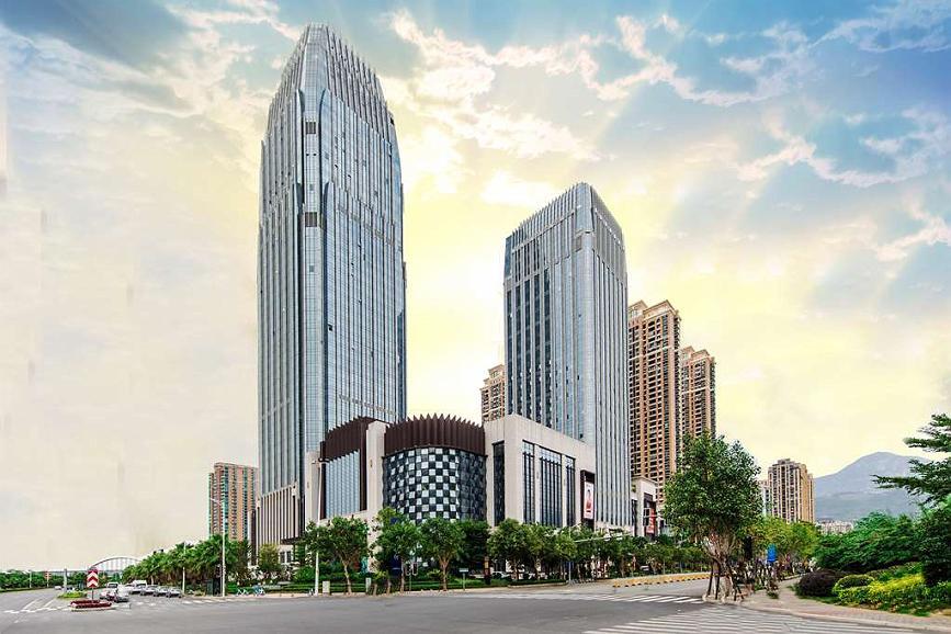 Best Western Plus Ouyue Hotel Fuzhou - Aussenansicht