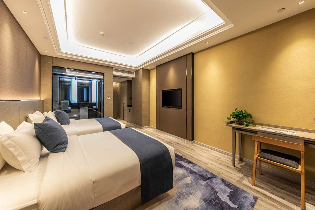 Best Western Plus Ouyue Hotel Fuzhou - Superior City View Room with Two Double Beds