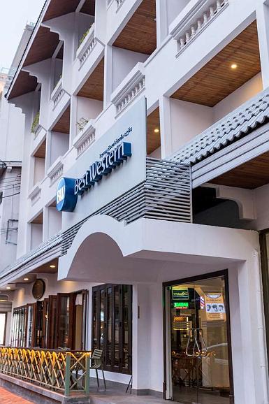 Best Western Vientiane Hotel - Aussenansicht