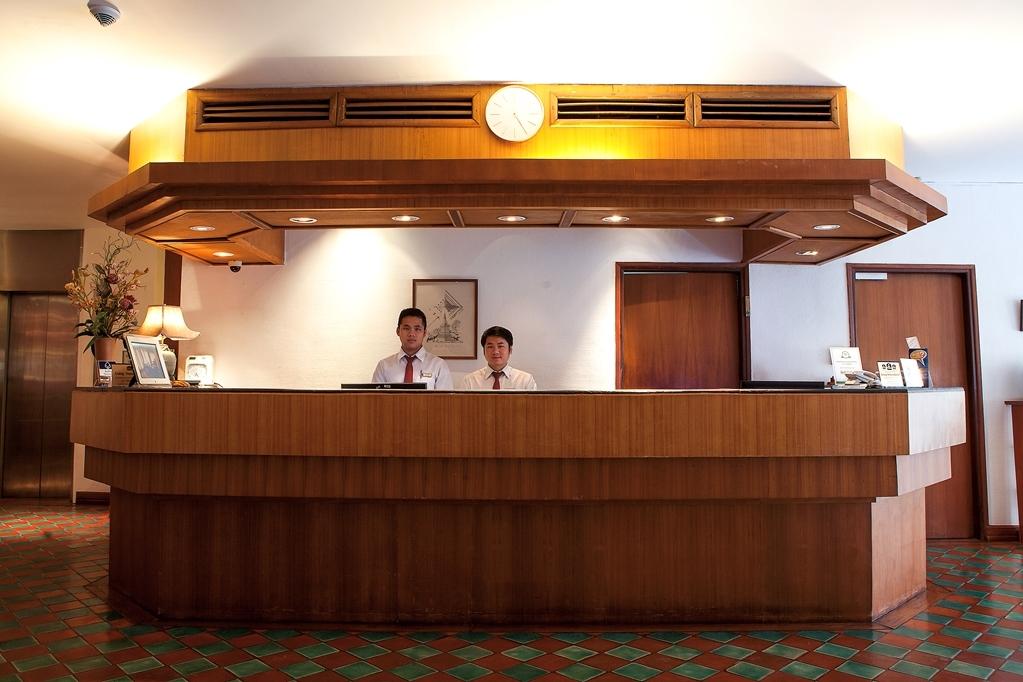 Best Western Vientiane Hotel - Vue du lobby