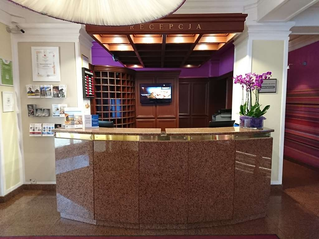 Best Western Hotel Cristal - Reception