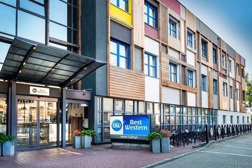 Best Western Hotel Galicya - Aussenansicht