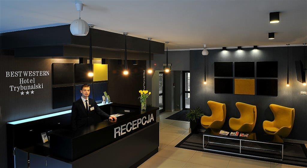 Best Western Hotel Trybunalski - Reception