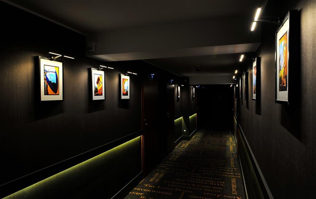 Best Western Hotel Trybunalski - Corridoio