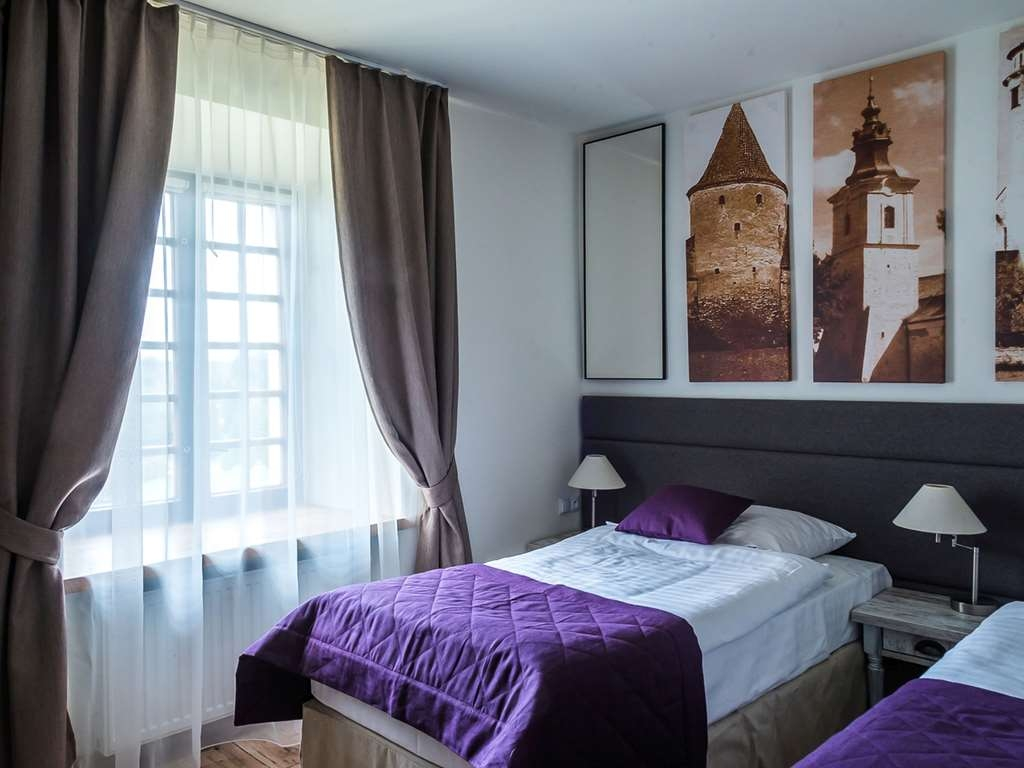 Best Western Plus Hotel Podklasztorze - The twin room has a magnificent view at the 12ct church.