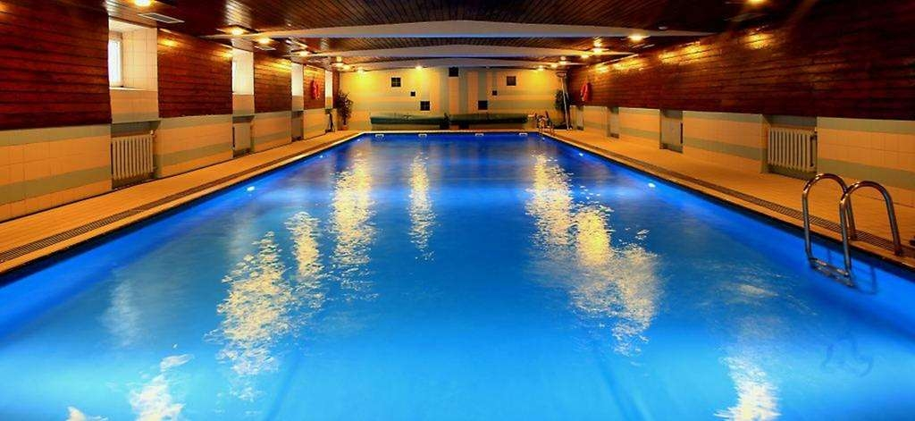 Best Western Plus Hotel Podklasztorze - Heated Indoor Swimming Pool - 20x7 m pool is located in the hotel cellar.