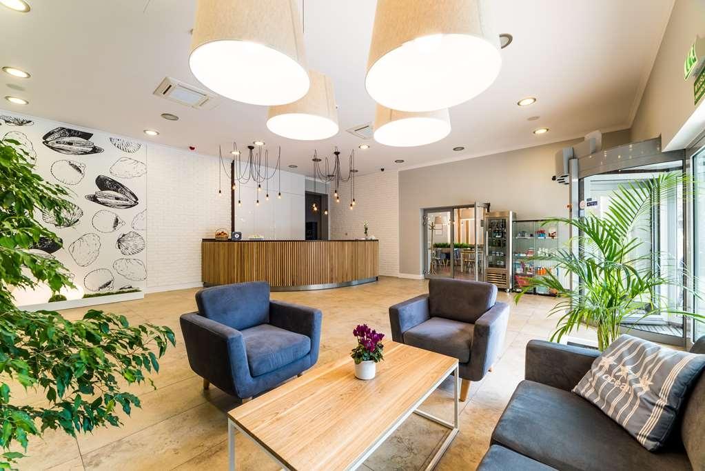 Best Western Hotel Jurata - Front Desk & Lobby Area