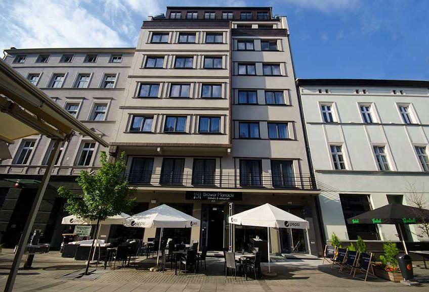 Best Western Hotel Mariacki - Best Western Hotel Mariacki front