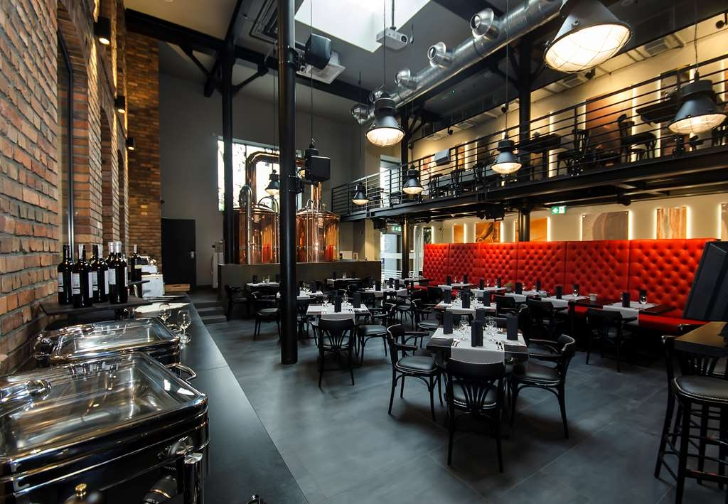 Best Western Hotel Mariacki - Best Western Hotel Mariacki restaurant Browar Mariacki