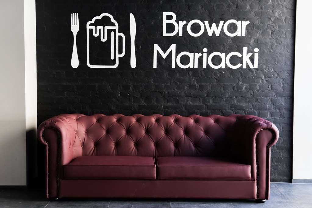 Best Western Hotel Mariacki - Best Western Hotel Mariacki restaurant Browar Mariacki lounge